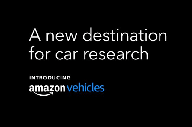 Amazon Vehicles: A new destination for car research.